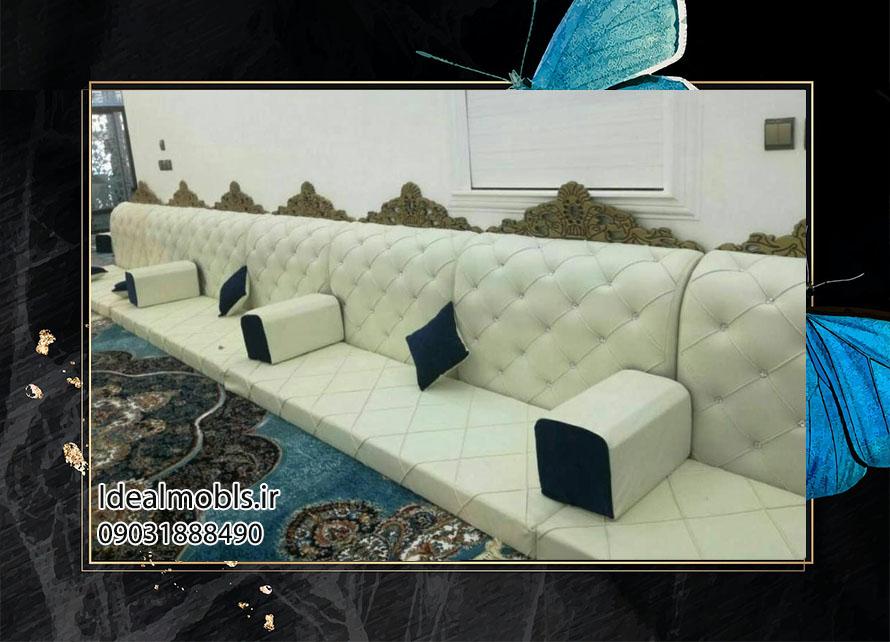 پشتی مبلی سنتی خلیجی